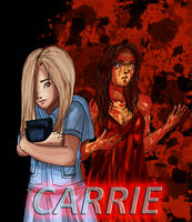 The Two Sides of Carrie White by itanatsu-chan