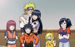 NaruHina Family by itanatsu-chan