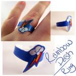 Rainbow Dash Ring