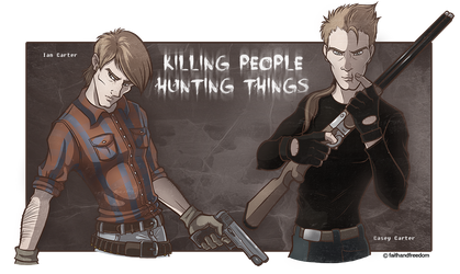 Killing people hunting things.. by faithandfreedom