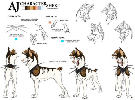 AJ Detailed Character Sheet