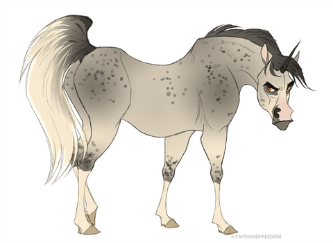 Junicorn DAY 2: Arabian Unicorn