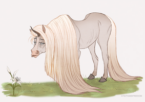 Junicorn Day 6: Old Friend by faithandfreedom