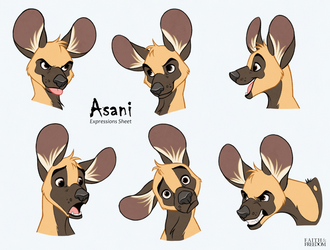 Asani Expressions Study by faithandfreedom