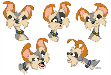 Seamus Expressions Sheet by faithandfreedom