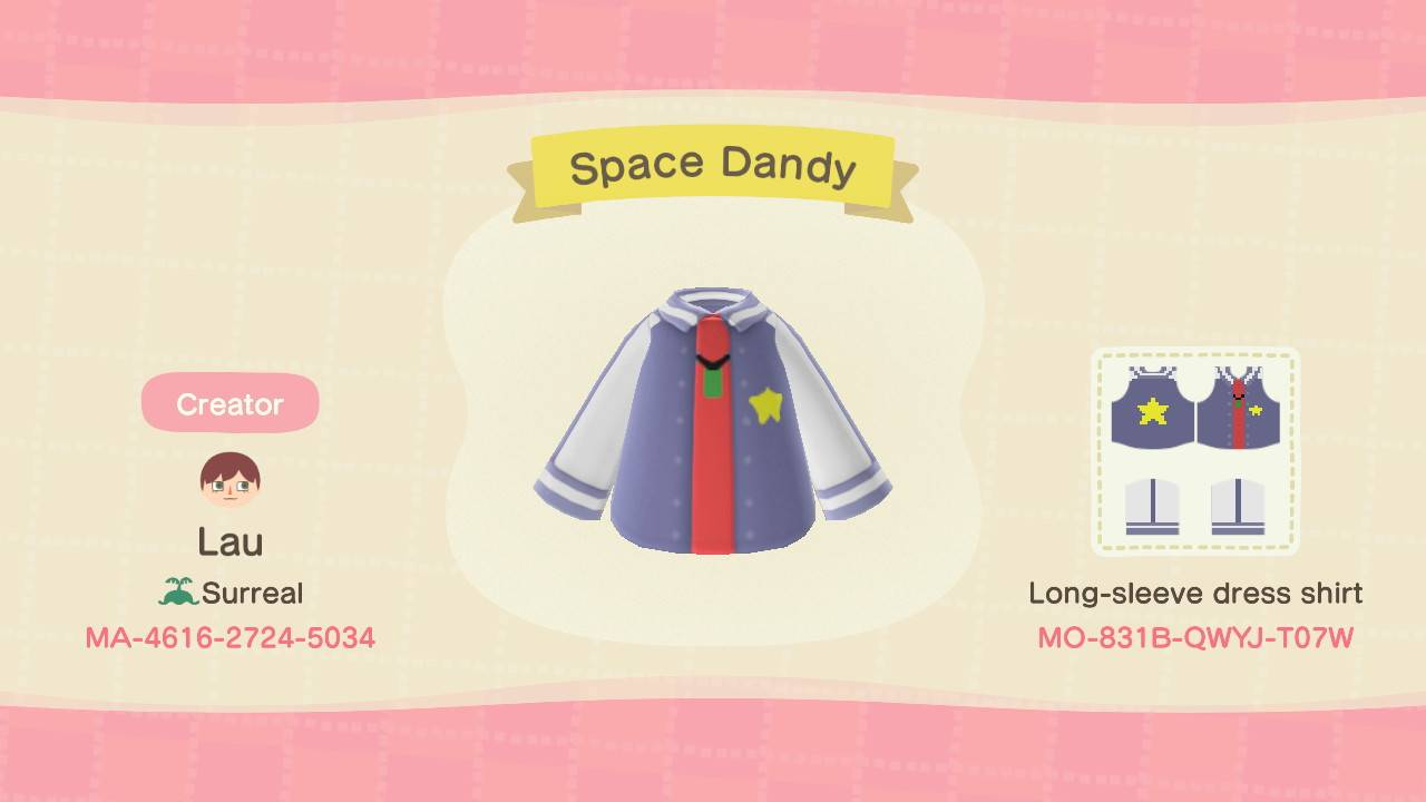 Space Dandy Design