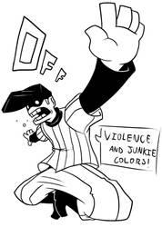 Violence and junkie colors! by efrejok