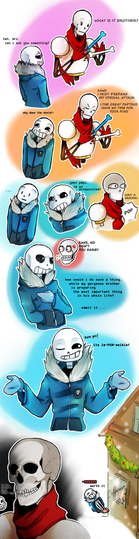 Undertale- Don't mess with the great Papyrus by ...