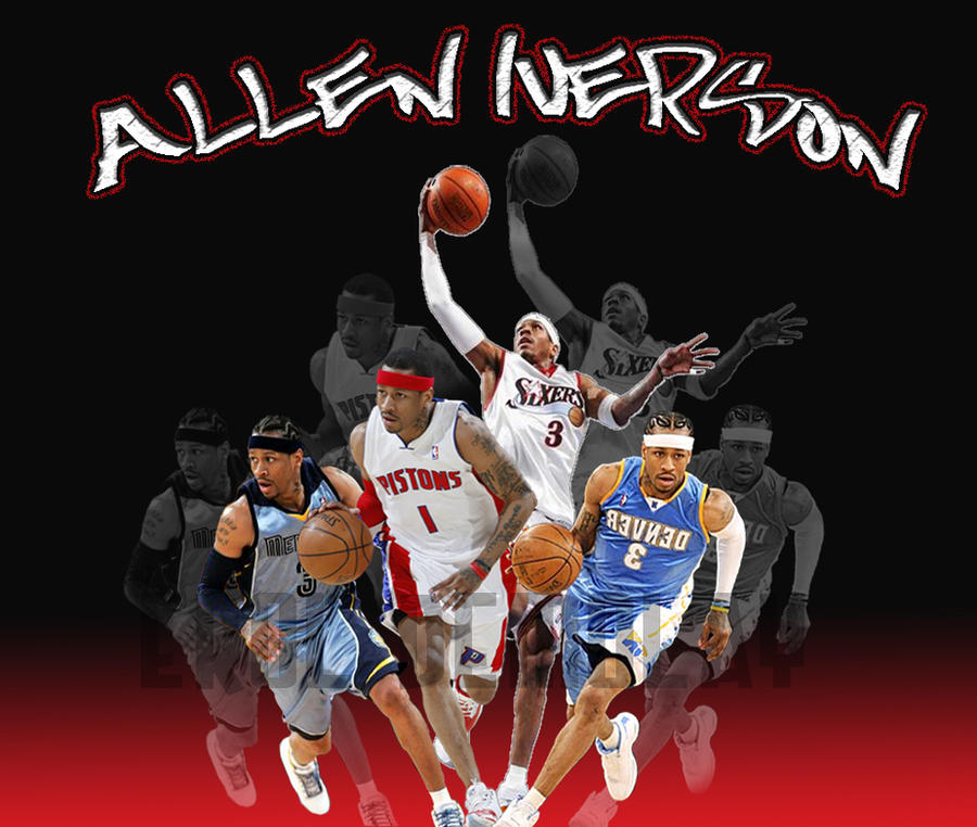 Allen Iverson Wallpaper by erolsc10 on DeviantArt