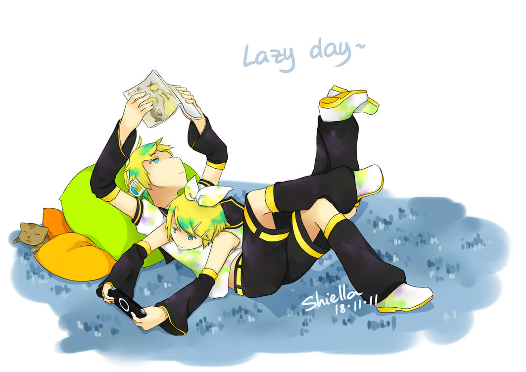 Lazy day? by m0rning-gl0ry