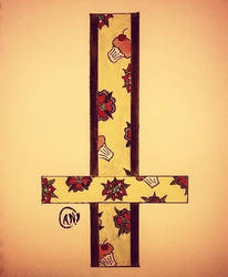 Cross print by Arsenid