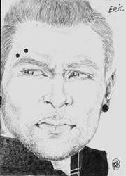 Jai Courtney portrait by Arsenid