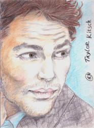 Taylor Kitsch portrait by Arsenid