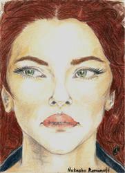 Natasha Romanoff by Arsenid