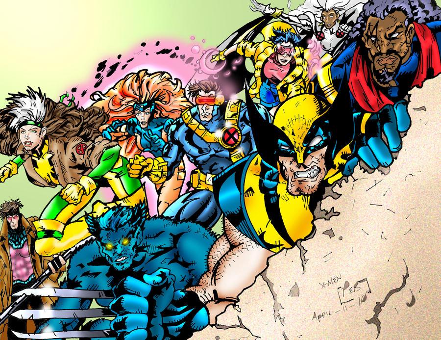 X-MEN All Stars by Dragonslayer9000