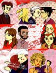 DW valentine cards