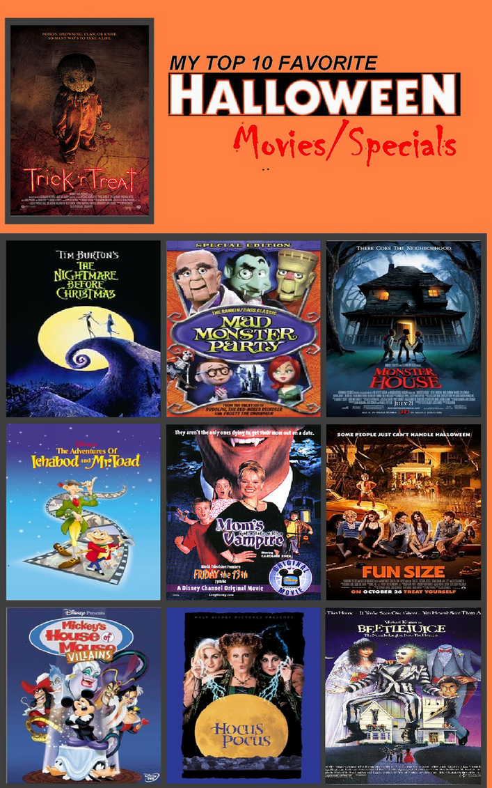 my top 10 halloween movies by detective88