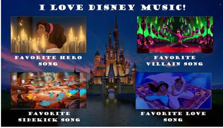 I Love Disney Music Meme