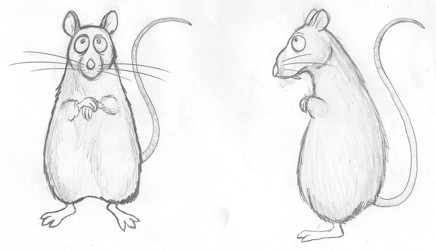 evil cartoon rats