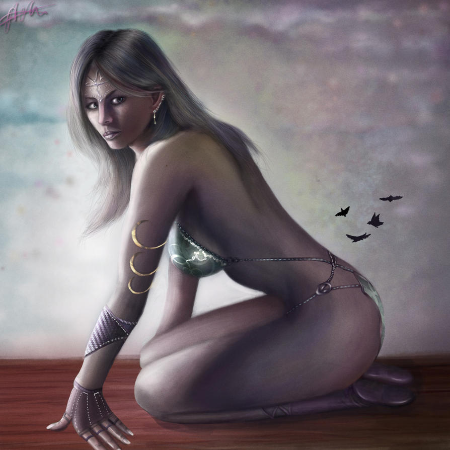 Fantasy girl by marfyta on deviantart fantasy girl by marfyta voltagebd Images