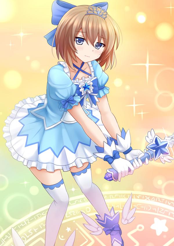 Magical Girl Blanc ~ by Kazenokaze