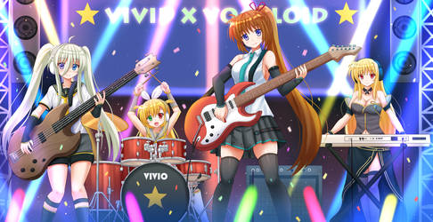 COM2017 - Vivid x Vocaloid by Kazenokaze