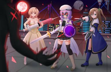 COM2018 - Revenge (2) by Kazenokaze