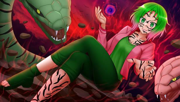 COM2021 - Haruno Sakura Evil