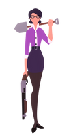 Miss Pauling- Gets the work done