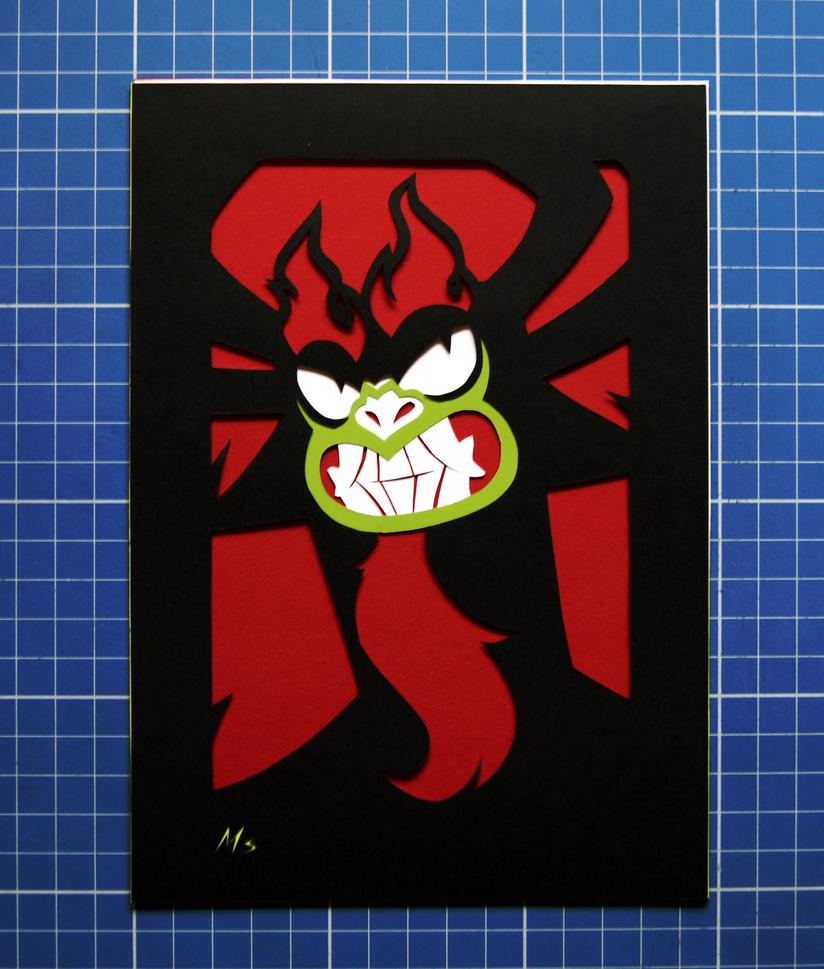 Samurai Jack- Aku by Nara-chann