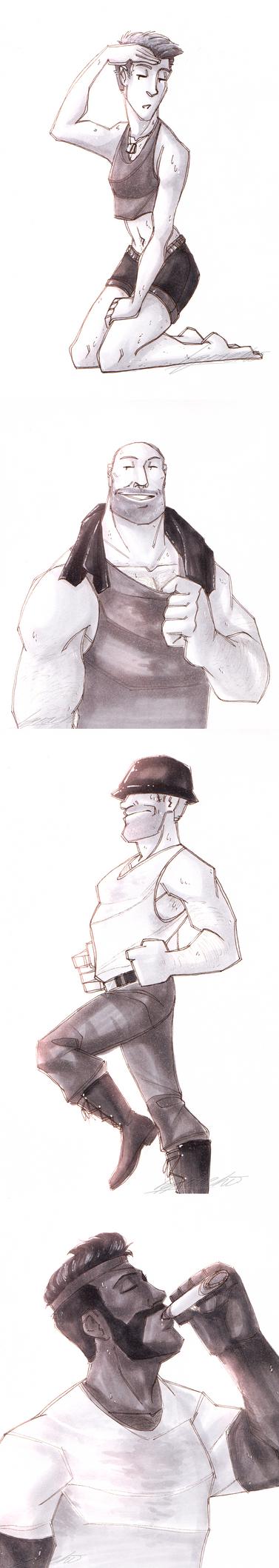 Gotta take care of the shape by Nara-chann
