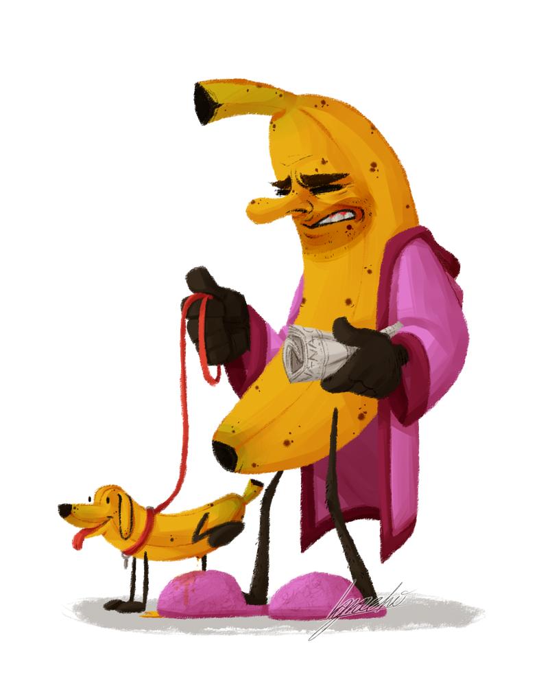 Banana Man - Manana by Nara-chann