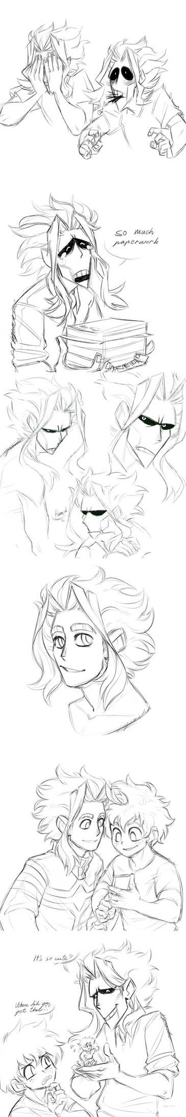 Toshinori Skethces Dump