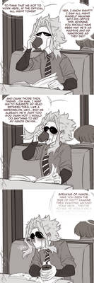 Bnha - Overhearing comic