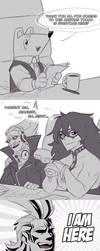 I AM HERE - comic by Nara-chann