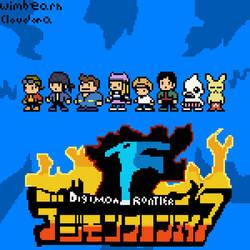 Digimon Frontier Pixel Art