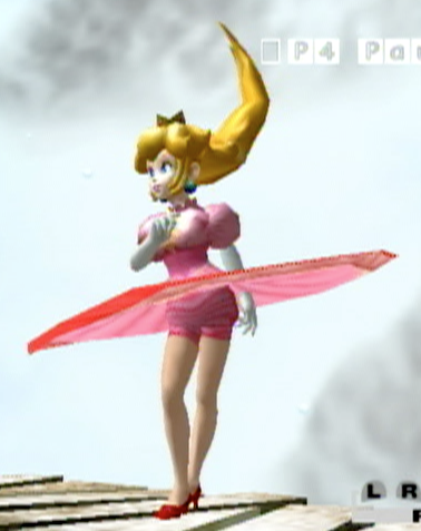Princess Peach's Sexy Legs Showing by darthraner83