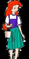 Princess Ariel As Dorothy Gale
