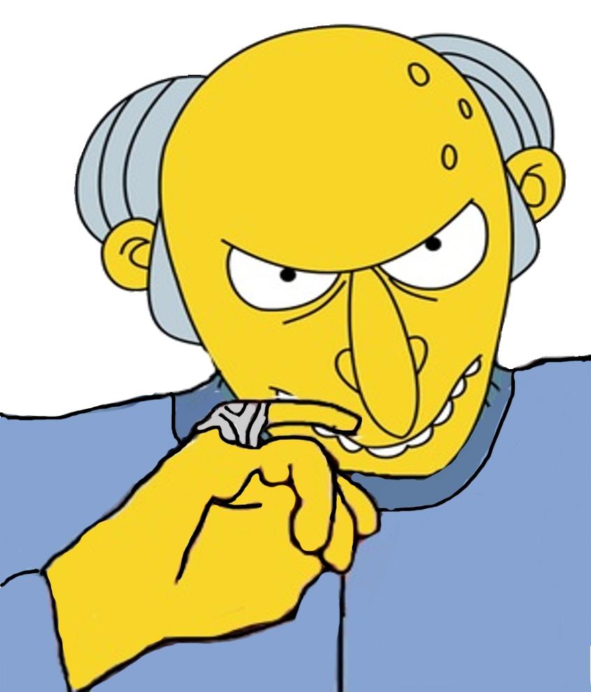 Dr. Burns Evil by darthraner83