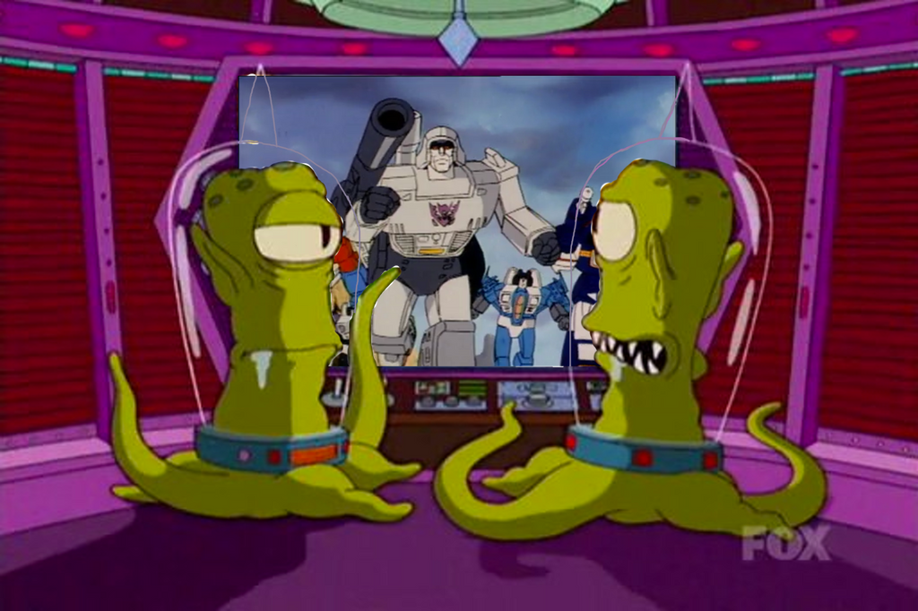 Kang and Kodos jealous about the Decepticons by darthraner83