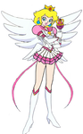 Princess Peach as an Eternal Sailor Scout