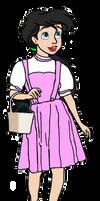 Princess Melody as Dorothy Gale