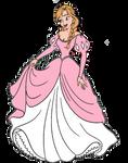 Princess Anna as Princess Ariel