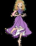 Serena as Princess Rapunzel