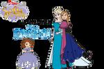 Sofia meets Elsa and Anna