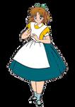 Molly Baker in Wonderland