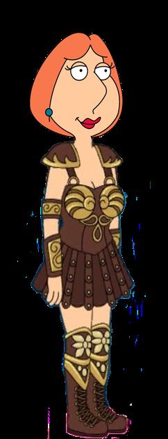 Lois Griffin as Xena warrior princess by darthraner83 on DeviantArt