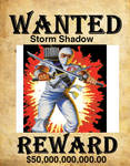 Storm Shadow Wanted Poster
