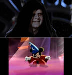 Mickey Mouse vs. Darth Sidious