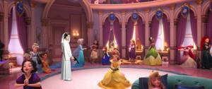 Leia Organa meets the Disney Princess